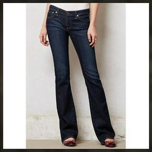 AG Adriano Goldschmied Angel bootcut dark jeans 30